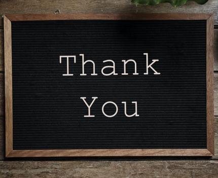 [Dedykacje, motta ipodziękowania] Podziękowania
